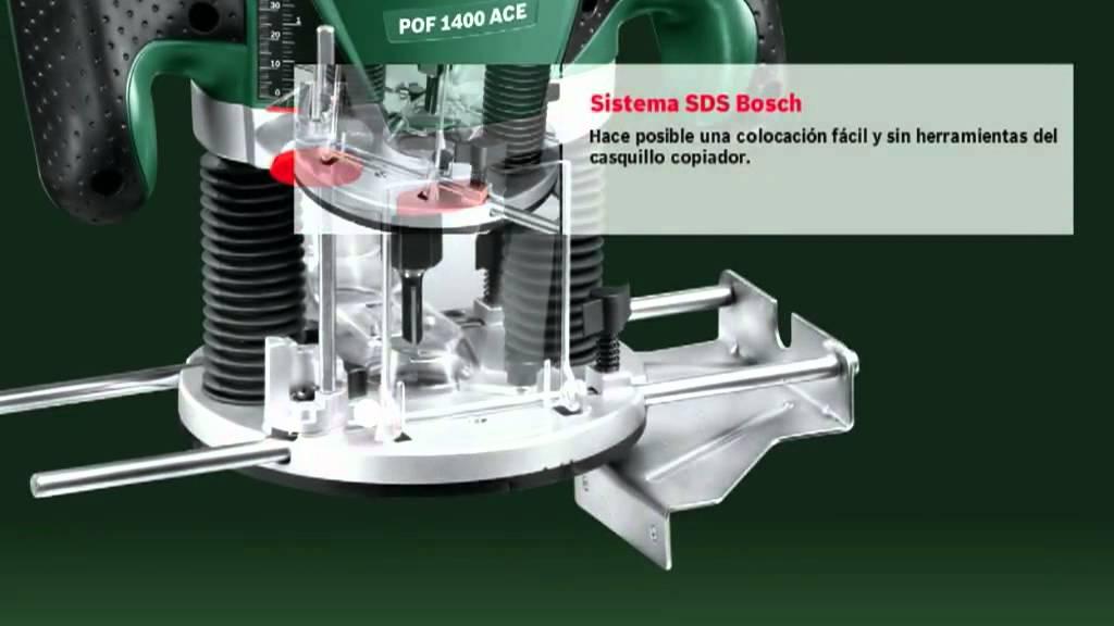 Fresadora de superficie bosch pof 1400 ace youtube - Bosch pof 1400 ace ...