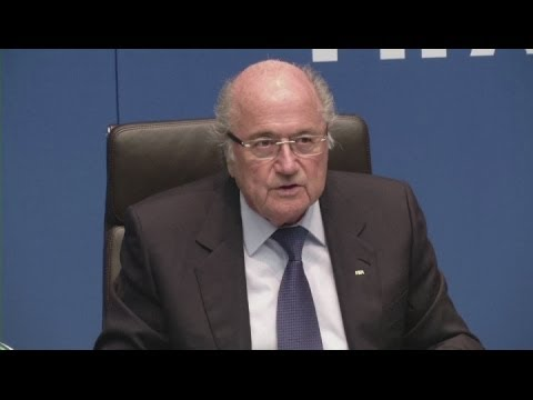 Blatter comments on Qatar bribery allegations [AMBIENT]