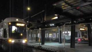 Link light rail Downtown Seattle Testing