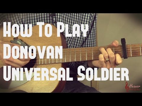 Donovan - Universal Soldier Picking