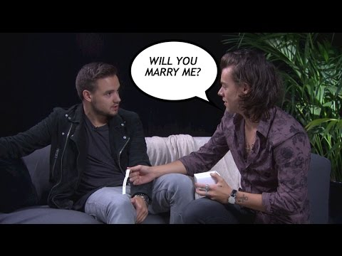 One Direction's Harry Styles and Liam Payne play the Sugarscape Fourplay challenge
