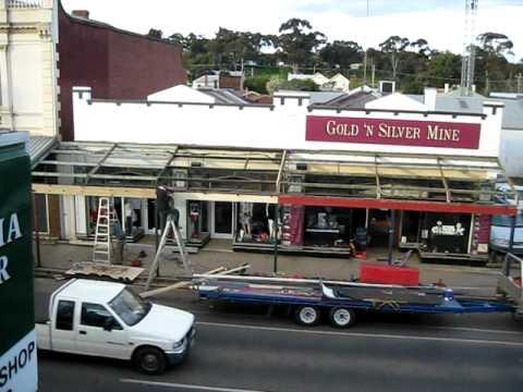 GOLD n SILVER MINE Veranda Repairs 003.AVI