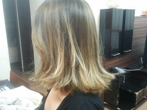 Transformao Juliana II - De luzes para Ombr Hair (ou quase)