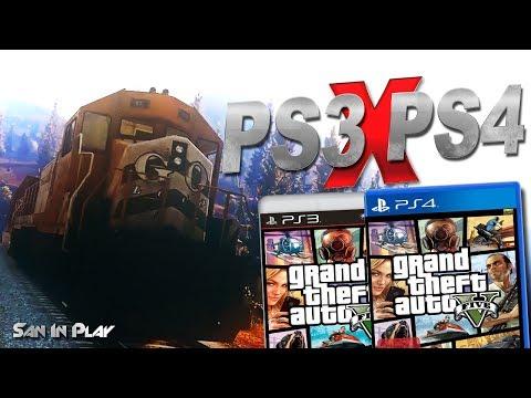 GTA V: PS3 X PS4 - Comparando os Gráficos!