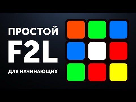 Простой F2L обучение | Переходим на Фридрих