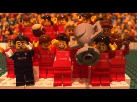 Reviven la final de Champions League del 2005 entre Liverpool y Milan en Lego