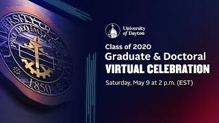 Graduate and Doctoral Virtual Celebration