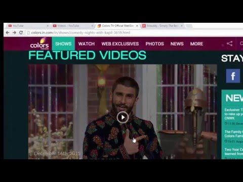 How To Download Comedy Nights With Kapil  Full Episode(HD)