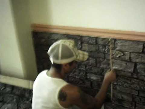 Paneles decorativos decorando muros innovacion en - Muros decorativos para interiores ...