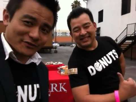 National Donut Day: Adrian Zaw and Tony at KTLA 5 Morning News