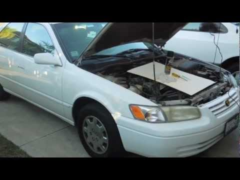 Camry idle air control valve cleaning how to save money for 1999 toyota camry window problems