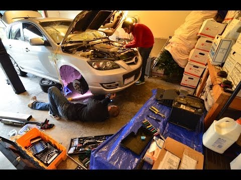 Mazdaspeed 3 VVT/Timing Chain/etc DIY Repair - Day 1: Tear-Down