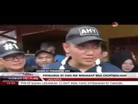 agus harimurti yudhoyono berdialog dengan warga rawa buaya ( MEMILIH PEMIMPIN DKI )