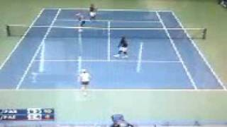 Mixed Doubles  Final US Open Carly Gullickson and Travis Parrott V.s Cara Black and Leander Paes