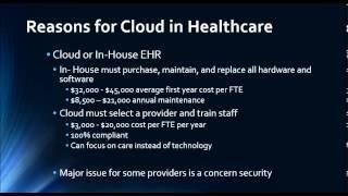 Cloud Computing in Healthcare ISC 410