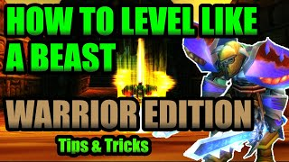 Classic Warrior Leveling Guide | How to Level FAST on a Warrior in Classic WoW!