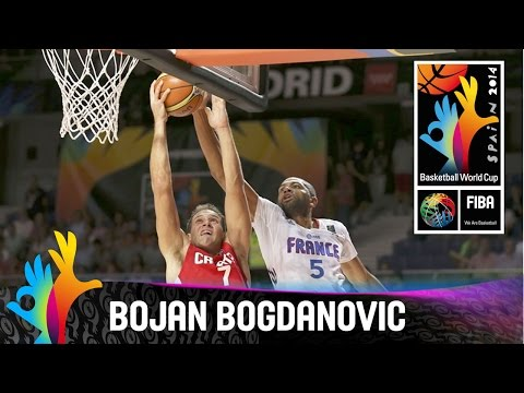 Bojan Bogdanovic - Best Player (Croatia) - 2014 FIBA Basketball World Cup