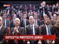 SÜLEYMAN SOYLU'YA PROTESTO ŞOKU