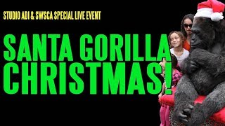 Santa Gorilla Christmas