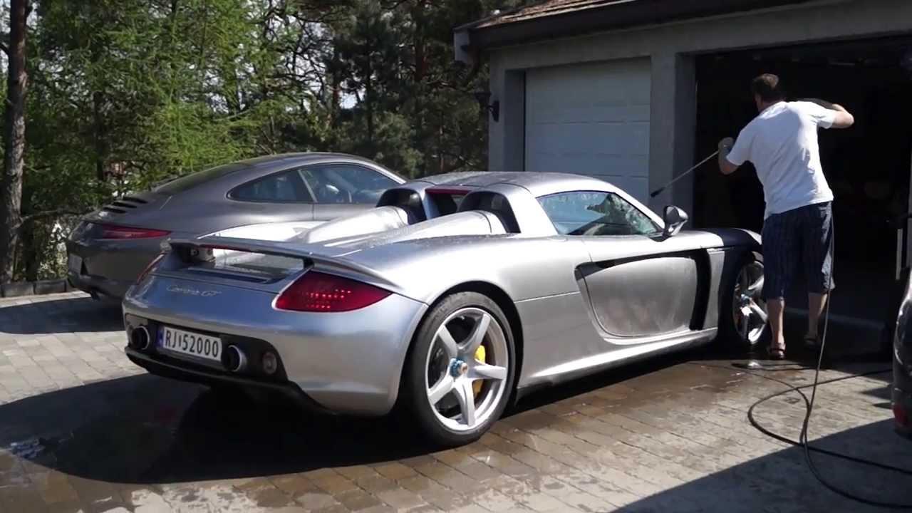 Porsche Carrera gt Interior Porsche Carrera gt Loud Revs