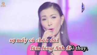 KARAOKE .BH.Hen Cau Da Vang  SC Cung kelly trang