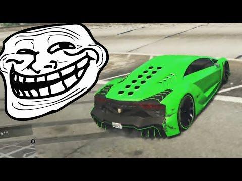 TROLL!! DANIREP TROLLEADO!! AHH! - Gameplay GTA 5 Online Funny Moments (Carrera GTA V Xbox ONE)