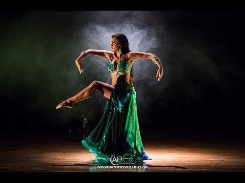 Jasirah - Peacock Bellydance Fantasy with wings - Venus 2017