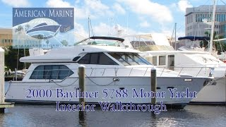 SOLD 2000 Bayliner 5788 Pilothouse MY HD