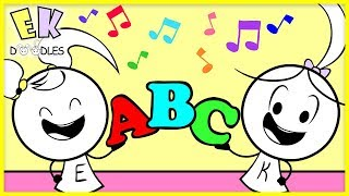 SING ABC SONG Learn English Alphabet for Children with Emma & Kate! Nursery Rhymes!