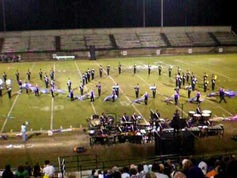 Batesburg-Leesville High School Marching Band 2009 State Finals
