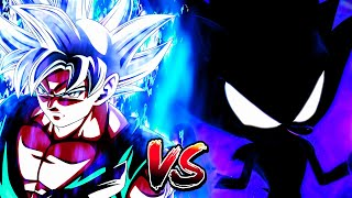 Mastered Ultra Instinct Goku Vs Dark Super Sonic | Rematch of Legends