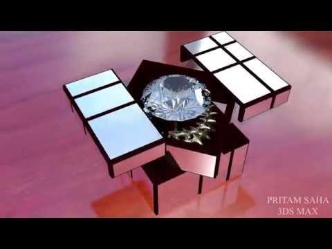 bang bang! kohinoor diamond box - 3d modeling in 3ds max by pritam saha
