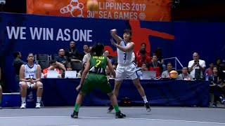 Highlights: Philippines vs Myanmar | 3X3 Basketball W Prelim Round | 2019 SEA Games