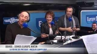 """Nicolas Canteloup - EXTRAIT - Angela Merkel est une """"bombe"""""""