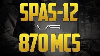 BF4 l 870 MCS vs. SPAS-12 (гайд, обзор)
