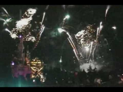 Disneyland Paris Fireworks