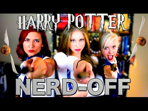 HARRY POTTER NERD OFF with Brizzy Voices & Tessa Netting | XTINEMAY