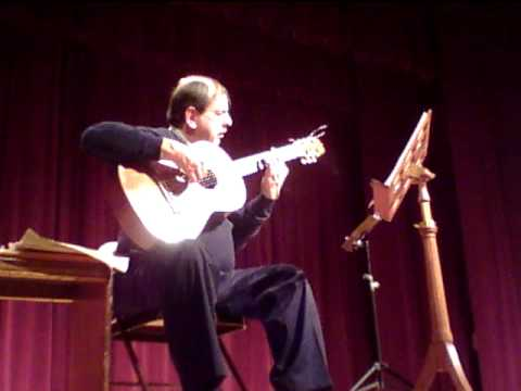Philip Rosheger performs a Ponce Prelude