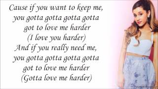 The Weeknd Video - Ariana Grande feat. The Weeknd - Love Me Harder (with Lyrics)