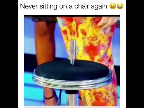 I'm never sitting on a chair again...
