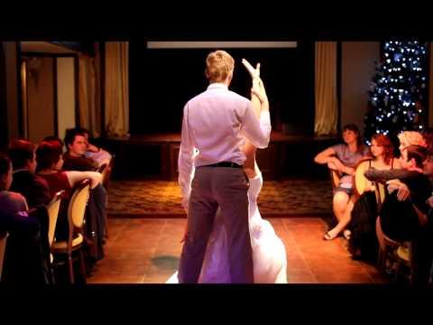 Видео свадебной румбы молодоженов