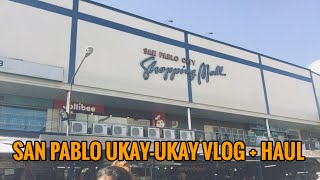 SAN PABLO UKAY-UKAY + HAUL | MC VLOGS
