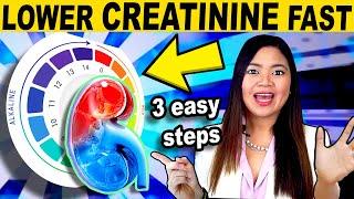 Repair Your KIDNEYS w/ Alkaline Foods [Proven Method] To Lower Creatinine Levels Fast
