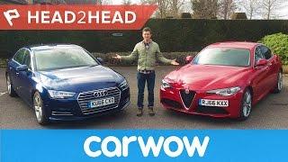 Alfa Giulia vs Audi A4 - can Italy beat Germany's finest? | Head2Head