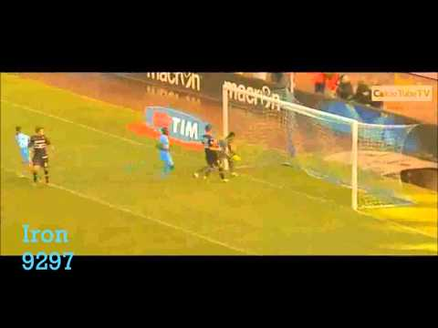 Dries Mertens Skills and Goals Napoli 2014 HD