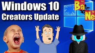 windows 10 creators update problems privacy invasion petition for change