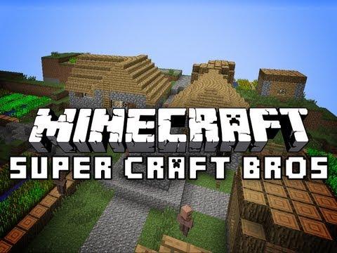 Minecraft: Super Craft Bros Brawl - PvP Mini-Game w/Jerome
