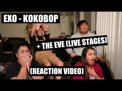 EXO - Kokobop & The Eve (Live Stages) || Reaction Video