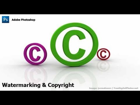 0 Photoshop   Watermarking & Copyrighting Your Images