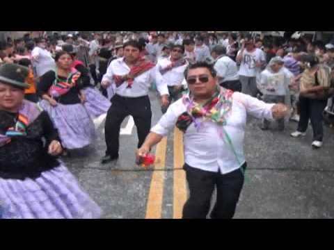 Carnavales en Sao Pualo  Brasil ((Moseñada Luribay ))